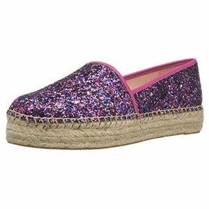 New KATE SPADE glitter espadrilles linds too