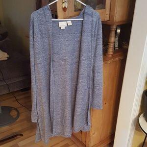 Cynthia Rowley 100% Linen cardigan
