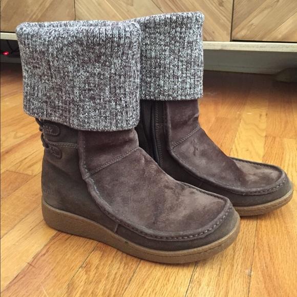Sale The North Face Suede Sweater Cuff