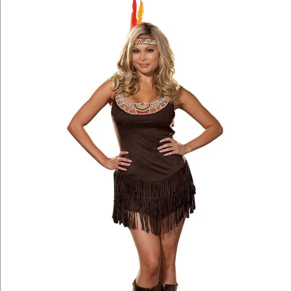 Pocahontas Dreamgirl Plus Size Costume  sc 1 st  Poshmark & Dreamgirl Dresses | Pocahontas Plus Size Costume | Poshmark