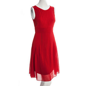 NWOT Modcloth Ruby Belle Sleeveless Red Dress