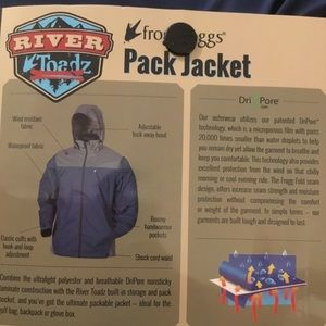 Frogg Toggs River Toadz Pack Jacket