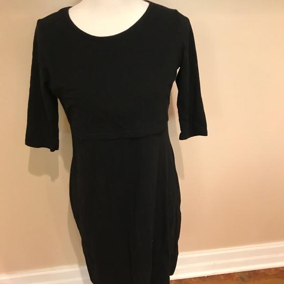 aa8f3103520 latched mama Dresses   Skirts - Latched Mama size large 3 4 sleeve nursing  dress