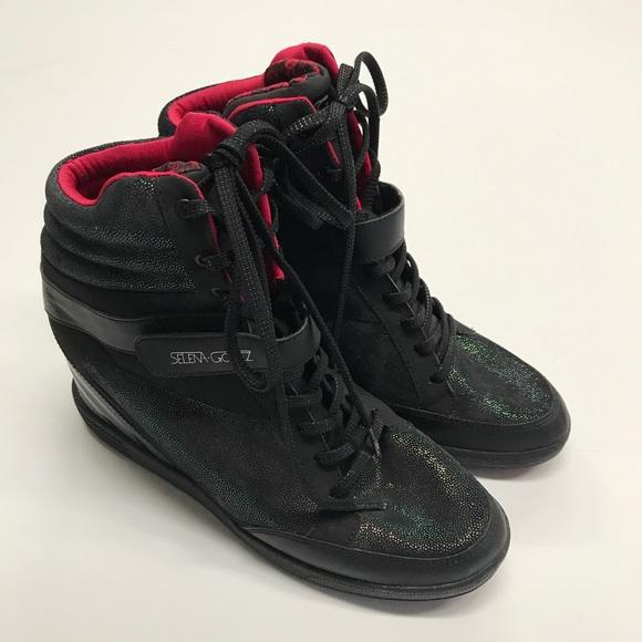 NEW Adidas NEO Selena Gomez Wedge Sneakers