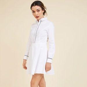 "Modcloth English Factory ""Promising Polish"" dress"