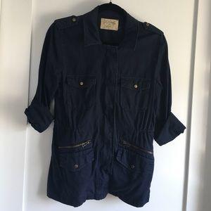 Anorak field jacket by Lily Aldridge for Velvet