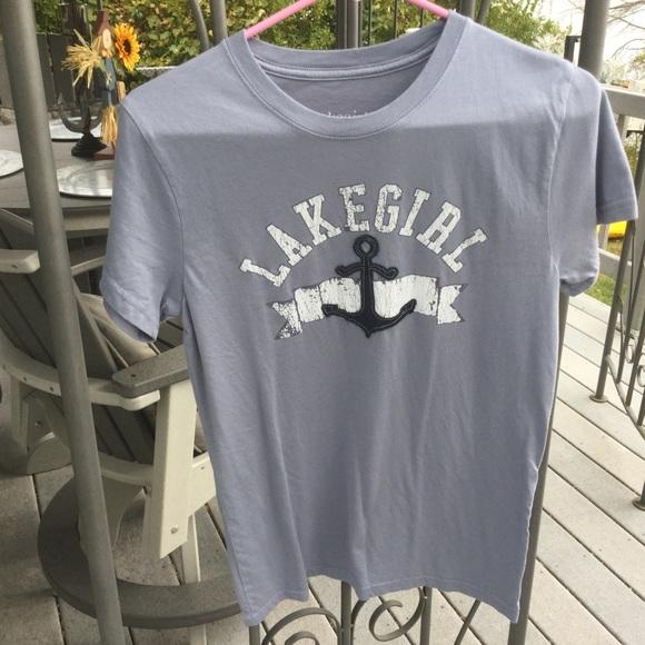 b673e5d114d82 lakegirl Tops - Lake Girl T shirt NWOT Size M