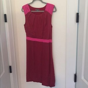 Pink & red Tinley Road dress