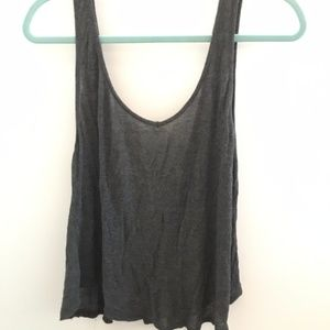 Charcoal American Eagle Tank Top