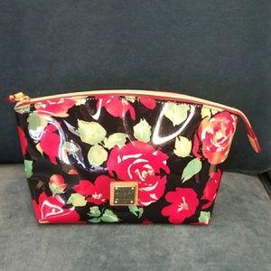 SALE:DOONEY &BOURKE Rose Garden Cosmetic Bag