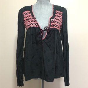 NWT - Odd Molly embroidered boho blouse