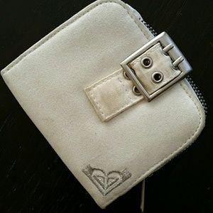White Roxy Wallet