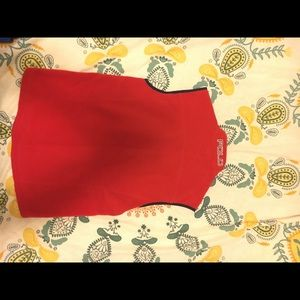Ralph Lauren Polo spell out Red Vest