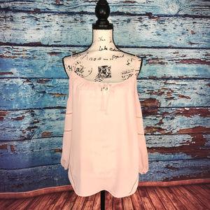 Metaphor soft cream color blouse