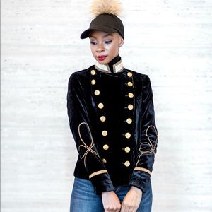 Denim & Supply Ralph Lauren Jackets & Coats - Velvet Military Blazer