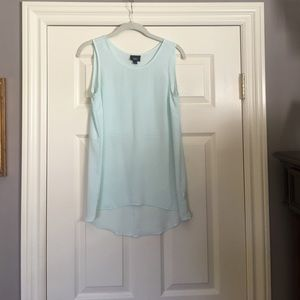 Tops - Target tank top with open split in the back