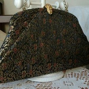 Vintage Metallic Evening Bag