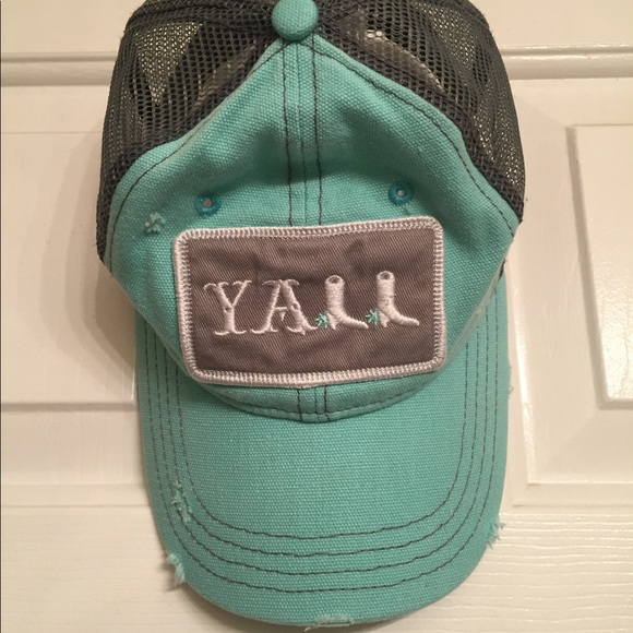"Accessories - Women's ""Y'all"" cap"