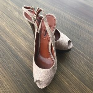 Brand new Missoni sling back heels