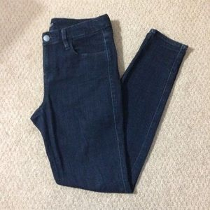 A.N.A Women's Navy Blue Skinny Jeggings