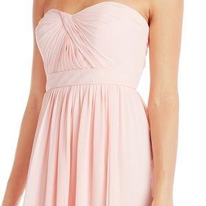 NWOT Jenny Yoo Blush Mira strapless dress