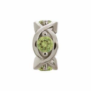 Endless Green Peridot Heaven Charm 41400-3