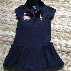 Girls USA Ralph Lauren polo shirt