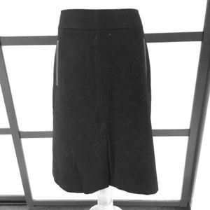 Wool riding type skirt