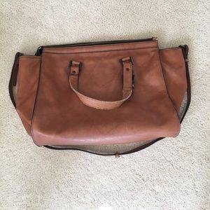 💕Zara brown tote bag