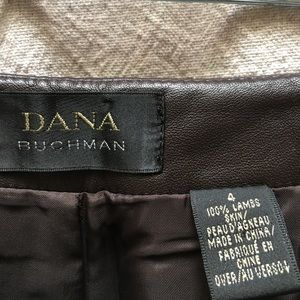 Dana Bachman leather pants