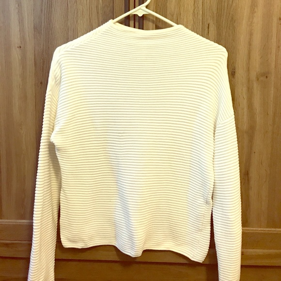 71% off H&M Sweaters - White mock turtleneck sweater from Malory's ...