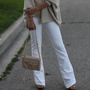 White flare jeans by CAbi