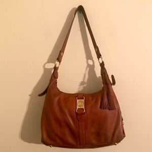 The Sak brown leather hobo