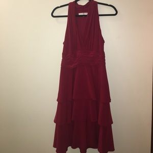 Evan-Picone Size 10 Red Dress