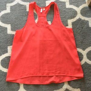 Coral colored razorback shirt