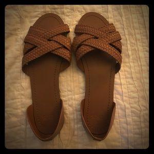 ASOS Brown Sandals Sz 5 Never Worn!