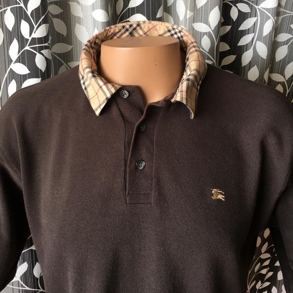 b8641fe79 Burberry Other - Burberry London polo shirt Nova Check collar
