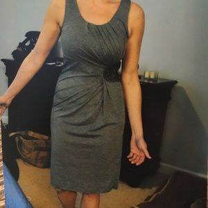 Sexy Heather Gray Dress