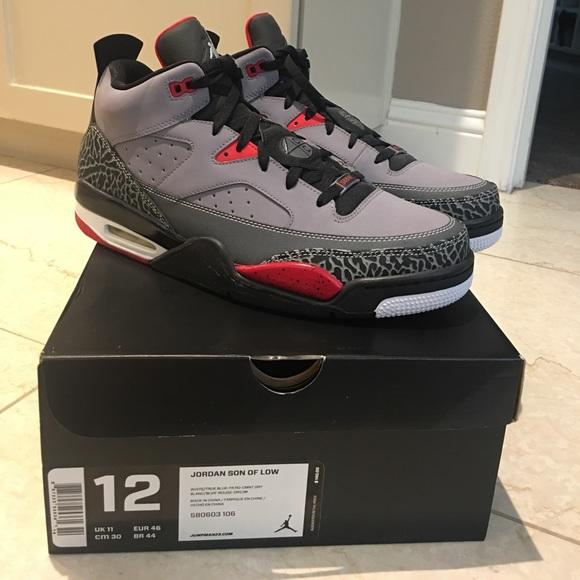 "huge discount 723fd 24d90 Men s Air Jordan s ""son of mars"" shoes. Brand new"