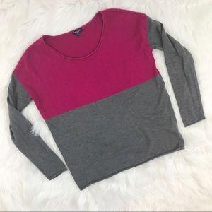 Splendid Color Block Sweater