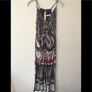 BCBGeneration Printed Dress With Pockets