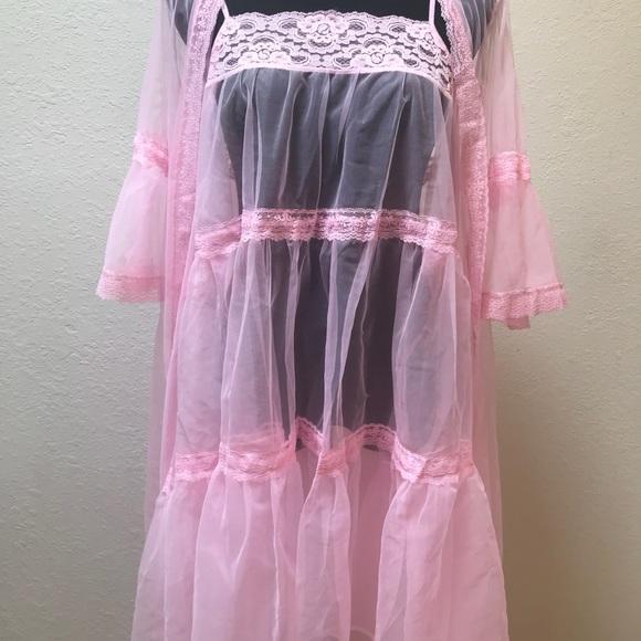 Vintage Intimates & Sleepwear - Vintage bouffant nightgown dress