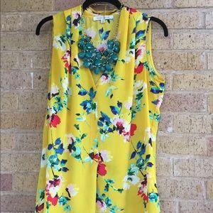 Rose + Olive medium blouse