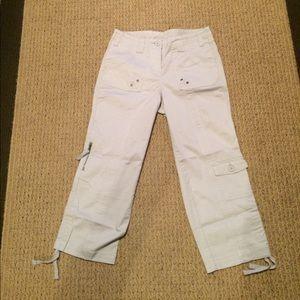 Pants - NWOT Gray Capri Pants