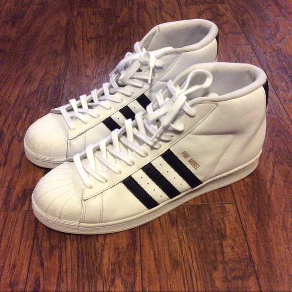 adidas Other - Men s Adidas Pro Model High-top Sneakers 3effc1b61