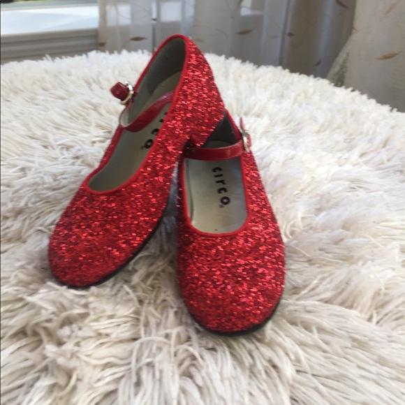 Nwot Dorothys Ruby Red Slippers Girls