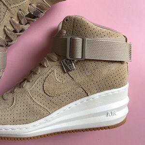 c20fbf007b42 Nike Shoes - Nike Desert Camo Lunar Force 1 Sky Hi Sneakers