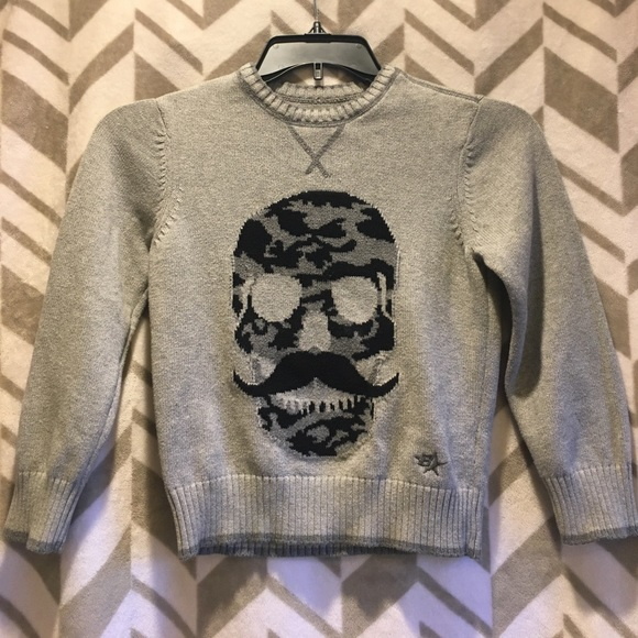 Brothers by Justice Other - Boys Brothers brand skull sweater