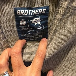 Brothers by Justice Shirts & Tops - Boys Brothers brand skull sweater