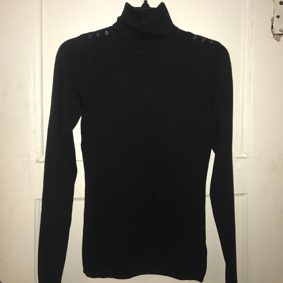 64% off The Limited Sweaters - The Limited dressy black turtleneck ...
